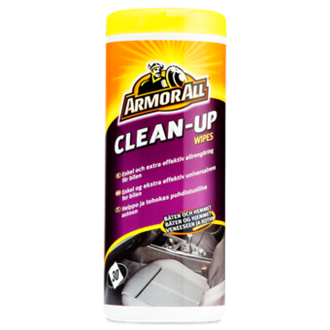 Amor All clean-up wipes