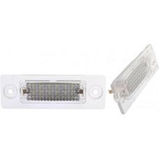 LED-skyltlykta till Skoda Superb och VW: Caddy, Golf, Jetta, Passat, Touran, Transporter