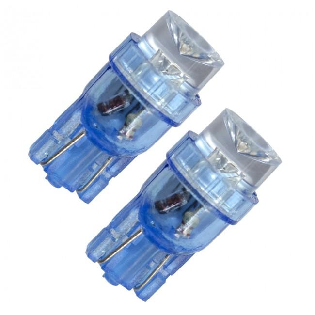 Diodlampa 12V W5W - Blå