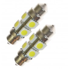 LED lampa xenonvit 36 mm 8 SMD
