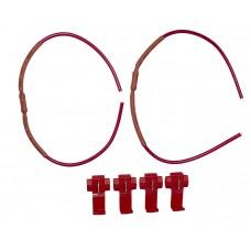 Resistorkablar 24V (5W, ett par)