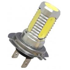Ledlampa H7, 24V, xenonvit 4x1,5W