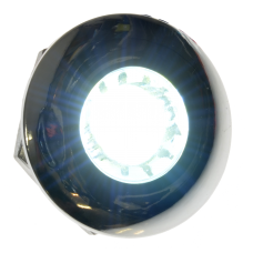 Diodskruv rund kromad 24 volt - Xenonvit