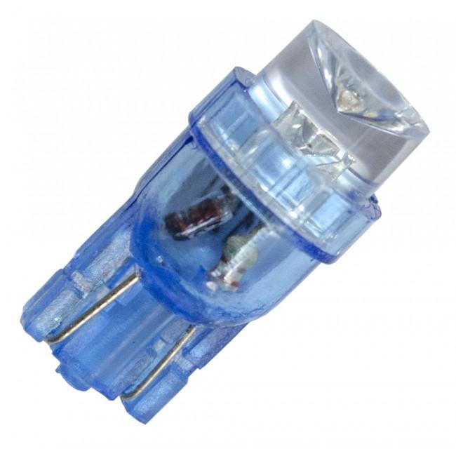 Diodlampa 1 diod 24V W5W - Blå