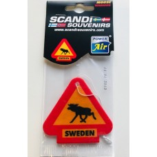 Luftfräschare Moose warning