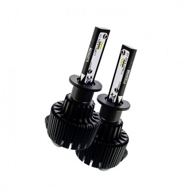 LED strålkastarlampor 9G (6000K) - H3