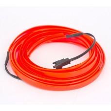 Glowstrip (200 cm - Röd)