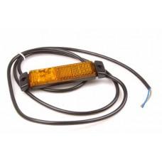 Positionslykta/sidomarkering LED med reflex orange