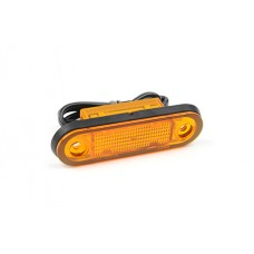 Hella Sidomarkeringslykta 8-28V LED orange