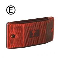 Poitionslykta/sidomarkering LED röd