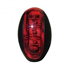 Positionslykta/sidomarkering LED 12-24v röd