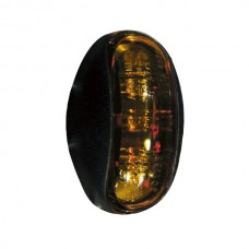 Positionslykta/sidomarkering LED 12-24V orange