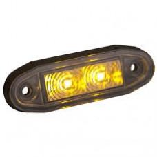 """Boreman """"Easy Fit"""" LED sidomarkering orange"""