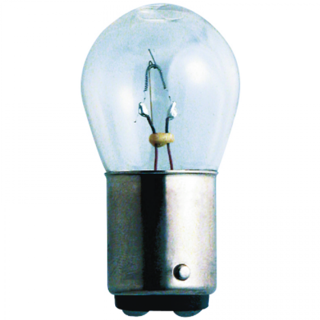 Glödlampa 2 pol 24v 15W