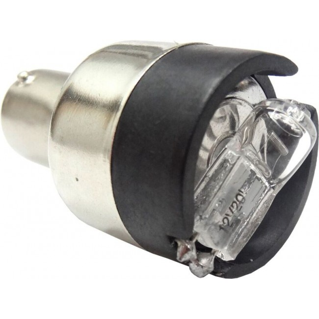 Backljuslampa med varningssignal (24V, sockel BA15s)