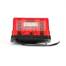 Nummerskyltsbelysning /Positionsljus LED Röd. 12-24V