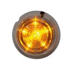 Viking LED orange klar lins 6 dioder i stjärnmönster