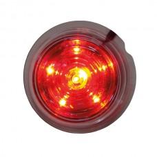 Viking LED röd klar lins 6 dioder i stjärnmönster