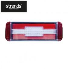 Bakljus LED 3 funktions 10-30V DC Vänster