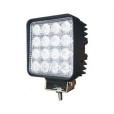 Arbetslampa LED Kvadrat 25W