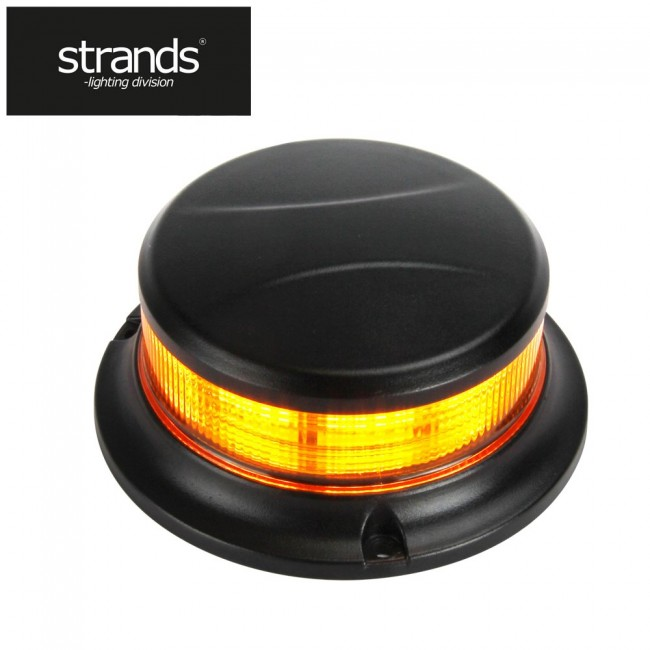Blixtljus Slim Beacon Amber 12-30V