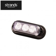 Blixtljus 12-24V 3LED Orange
