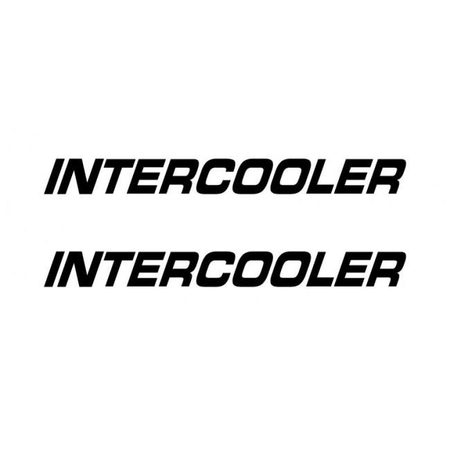 Dekal Intercooler