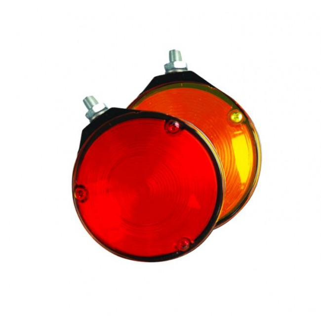 Quintezz Spanish light orange/röd LED