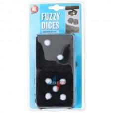 "Tärningar ""Fuzzy dice"" Svart"