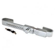 Containerlås 34-48cm. 2st nycklar ingår. Härdat stål