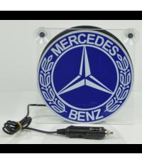 Ljusskylt Mercedes