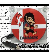 Ljusskylt Danmark Troll