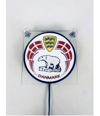 Ljusskylt Danmark Isbjörn