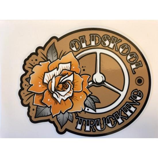 Dekal Oldskool trucking orange