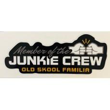 Dekal Truck Junkie Oldskool familia