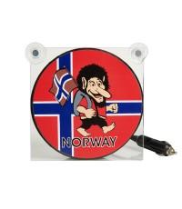 Ljusskylt Norge Troll